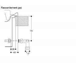 VG295220 raccord gaz
