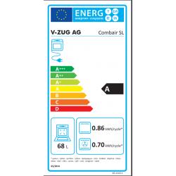 Classe efficacité énergétique Combair steam SL